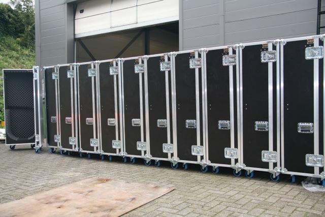 orkesten vervoer instrumenten koffers