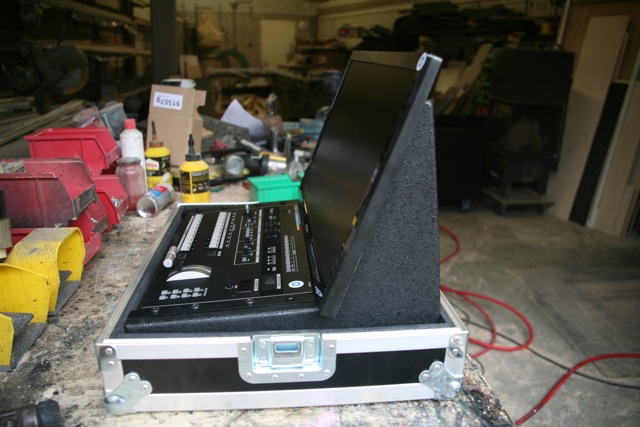 videomixer koffer flightcase
