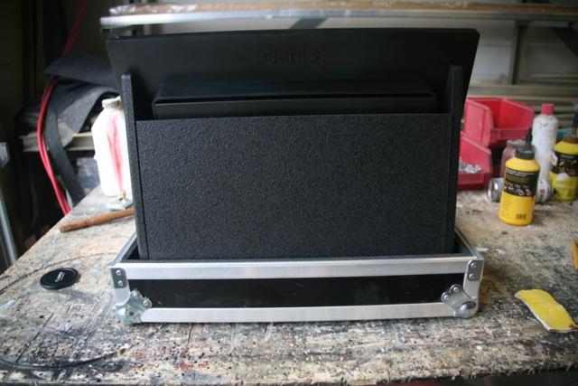 videomixer koffer aluminium