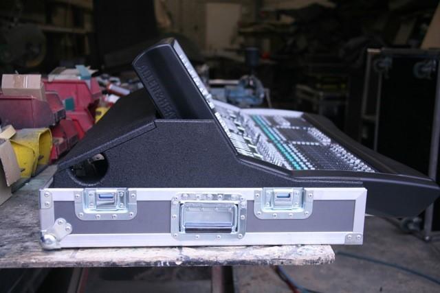Flightcase Mengtafel